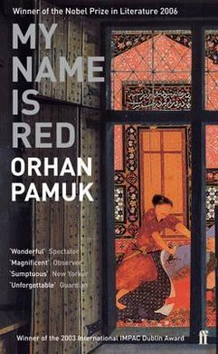 My Name Is Red - фото книги