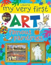 My Very First Art: Famous Paintings - фото обкладинки книги