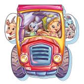 На дорозі: Трактор-трудівник - фото обкладинки книги