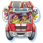На дорозі: Відважна пожежна машина - фото обкладинки книги