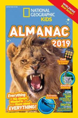 National Geographic Kids. Almanac 2019. International Edition - фото книги