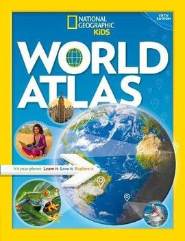 National Geographic Kids World Atlas - фото книги