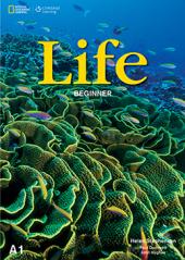 National Geographic Learn Cengage Learning Life Beginner with DVD A1 Helen Stephenson, Paul Dummett, John Hughes - фото обкладинки книги