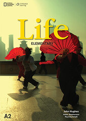 National Geographic Learn Cengage Learning Life Elementary A2 Jonh Hughes, Helen Stephenson, Paul Dummett with DVD - фото обкладинки книги