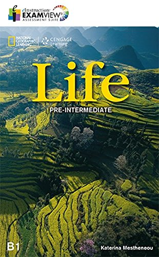 Посібник National Geographic Learn Cengage Learning Life Pre-Intermediate  ExamView Assessment Suite B1 Katerina Mestheneou