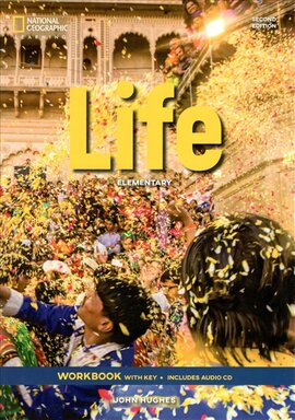 National Geographic Learn Second Edition Life Elementary Workbook with Key includes Audio CD John Hughes - фото книги