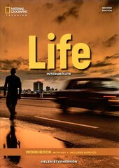 National Geographic Learn Second Edition Life Intermediate Workbook with Key includes Audio CD Helen Stephenson