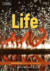 National Geographic Learn Second Edition Life Workbook with Key includes Audio CD Helen Stephenson - фото обкладинки книги