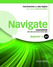 Navigate Beginner A1: Coursebook with DVD and Online Practice (підручник) - фото обкладинки книги