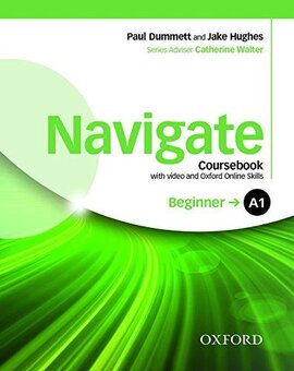 Navigate Beginner A1: Coursebook with DVD and Online Practice (підручник) - фото книги