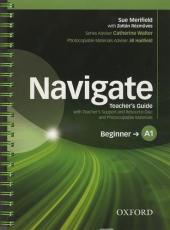 Navigate Beginner A1: Teacher's Book with Teacher's Resource Disc (книга вчителя) - фото обкладинки книги