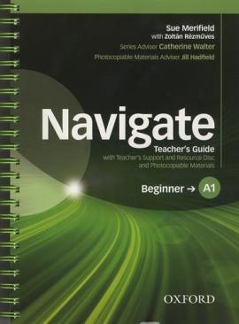 Navigate Beginner A1: Teacher's Book with Teacher's Resource Disc (книга вчителя) - фото книги