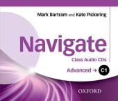 Navigate C1 Advanced. Class Audio CDs (набір із 3 аудіодисків) - фото обкладинки книги