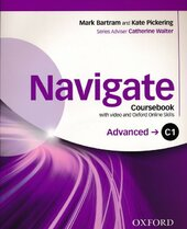 Navigate C1 Advanced. Coursebook with DVD and Oxford Online Skills Program - фото обкладинки книги