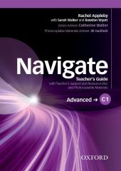 Navigate C1 Advanced. Teacher's Book with Teacher's Resource Disc - фото обкладинки книги