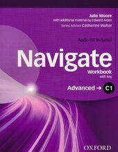 Navigate C1 Advanced. Woorkbook + Key + CD - фото обкладинки книги