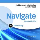 Navigate Elementary A2: Class Audio CDs (3) (аудіодиск) - фото обкладинки книги