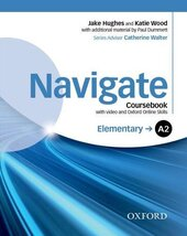 Navigate Elementary A2: Coursebook with DVD and Online Practice (підручник з диском) - фото обкладинки книги