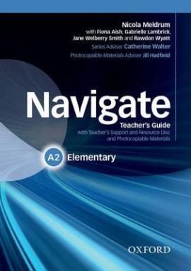 Navigate Elementary A2: Teacher's Book with Teacher's Resource Disc (книга вчителя) - фото книги