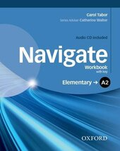 Navigate Elementary A2: Workbook with Key with Audio CD - фото обкладинки книги