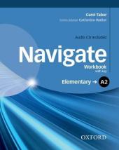 Navigate Elementary A2: Workbook with Key with Audio CD - фото обкладинки книги
