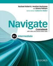 Navigate Intermediate B1+: Coursebook with DVD and Online Practice (підручник з диском) - фото обкладинки книги