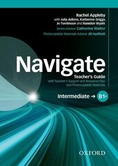 Navigate Intermediate B1+: Teacher's Book with Teacher's Resource Disc (книга вчителя) - фото обкладинки книги
