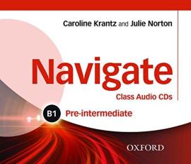 """Navigate Pre-Intermediate B1: Class Audio CDs (аудіодиск)"""" Caroline Krantz - фото книги"""