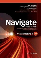 Navigate Pre-Intermediate B1: Teacher's Book with Teacher's Resource Disc (книга вчителя) - фото обкладинки книги