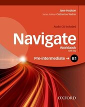 Navigate Pre-Intermediate B1: Workbook with Key with Audio CD - фото обкладинки книги