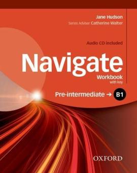 Navigate Pre-Intermediate B1: Workbook with Key with Audio CD - фото книги