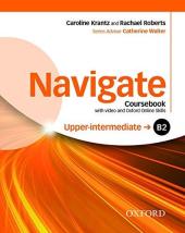 Navigate Upper-Intermediate B2: Coursebook with DVD and Online Practice (підручник) - фото обкладинки книги