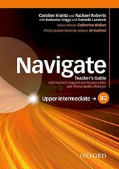 Navigate Upper-Intermediate B2: Teacher's Book with Teacher's Resource Disc(книга вчителя) - фото обкладинки книги