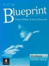 New Blueprint Intermediate Workbook (With Key) - фото обкладинки книги
