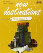 New Destinations. Beginners A1.1. Class CDs (2 аудіодиски) - фото обкладинки книги
