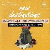 New Destinations. Beginners A1.1 - Pre-Intermediate A2. Teacher's Resource CD - фото обкладинки книги