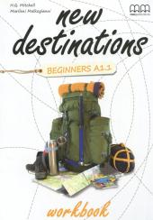New Destinations. Beginners A1.1. Workbook - фото обкладинки книги