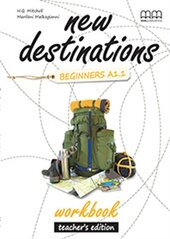 New Destinations. Beginners A1.1. Workbook. Teacher's Edition - фото обкладинки книги