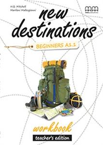 New Destinations. Beginners A1.1. Workbook. Teacher's Edition - фото книги