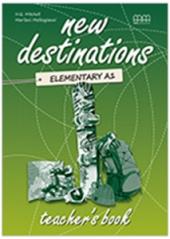 New Destinations. Elementary A1. Teacher's Book - фото обкладинки книги
