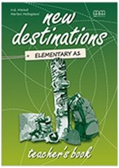 New Destinations. Elementary A1. Teacher's Book - фото обкладинки книги