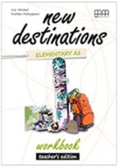 New Destinations. Elementary A1. Workbook. Teacher's Edition - фото обкладинки книги