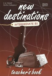 New Destinations. Intermediate B1. Teacher's Book - фото обкладинки книги