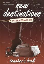 New Destinations. Intermediate B1. Teacher's Book - фото обкладинки книги
