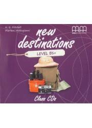 New Destinations. Level B1+. Class CDs - фото книги