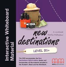 New Destinations. Level B1+. Interactive Whiteboard DVD-ROM (програма для інтерактивної білої дошки) - фото книги