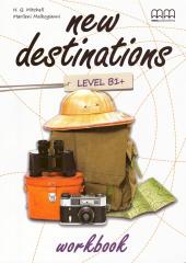 New Destinations. Level B1+. Workbook - фото обкладинки книги