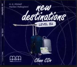 New Destinations. Level B2. Class CDs - фото книги