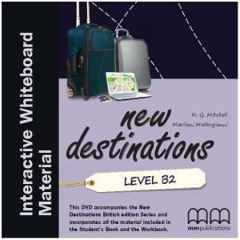 New Destinations. Level B2. Interactive Whiteboard DVD-ROM (програма для інтерактивної білої дошки) - фото книги