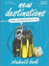 New Destinations. Pre-Intermediate A2. Student's Book - фото обкладинки книги